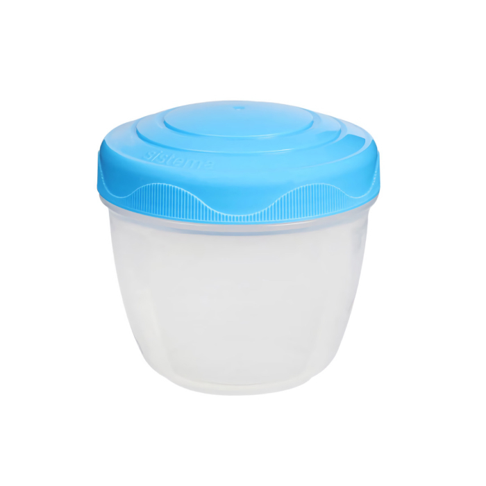 """Контейнер для йогурта Sistema """"TO GO"""" 305 мл, цвет Голубой"""