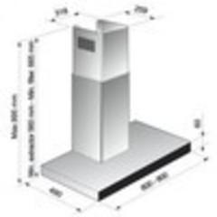 Вытяжка Korting KHC 9770 GW - схема