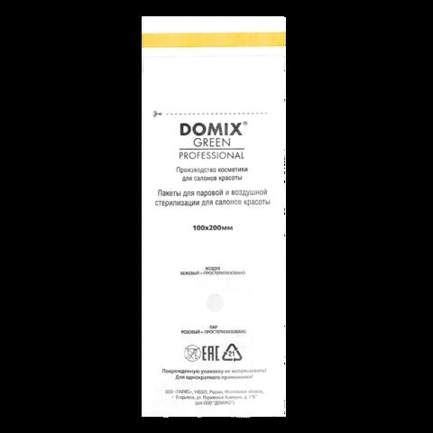 DGP Domix Крафт-пакеты белые 100*200 (уп 100 шт)