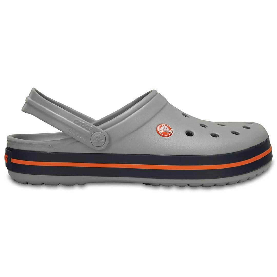 Сабо Crocs Crocband Light Grey/Navy