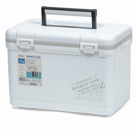 Термобокс SHINWA Holiday Land Cooler 17H белый  /8