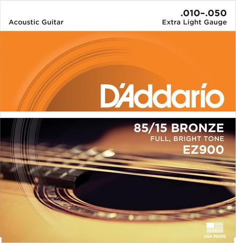 D`ADDARIO EZ900 SET ACOUS GTR 85/15 X-LITE