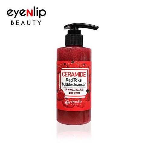 EYENLIP Пенка кислородная для умывания CERAMIDE RED TOKS BUBBLE CLEANSER 200мл