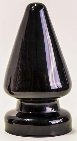 Чёрная анальная пробка MAGNUM - 23 см.