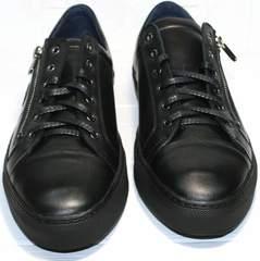 Полу туфли мужские Ікос 1528-1 Black
