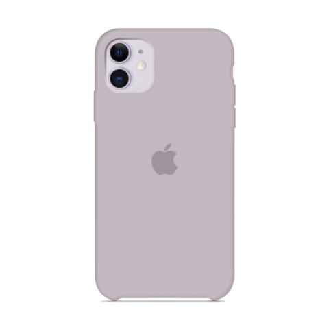 Чехол iPhone 11 Silicone Case /lavender/ лаванда 1:1