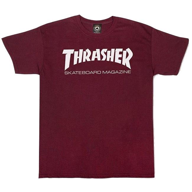 Футболка THRASHER Skate Mag Maroon
