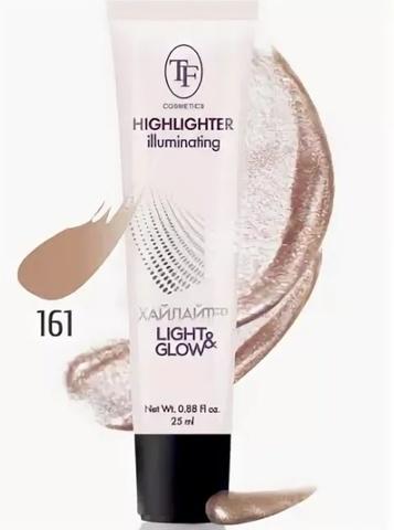 TF Хайлайтер для лица  Illuminating Highlighter тон 161 золотистый -25мл CTW16