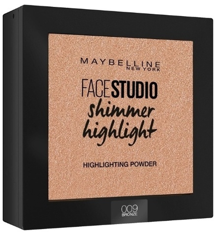 Maybelline Пудра-хайлайтер FaceStudio Setting Shimmer highight  №009 Bronze