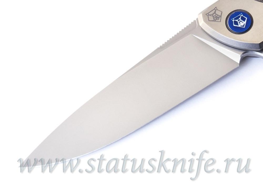 Нож Широгоров Флиппер 95 NL Bronze M390 - фотография