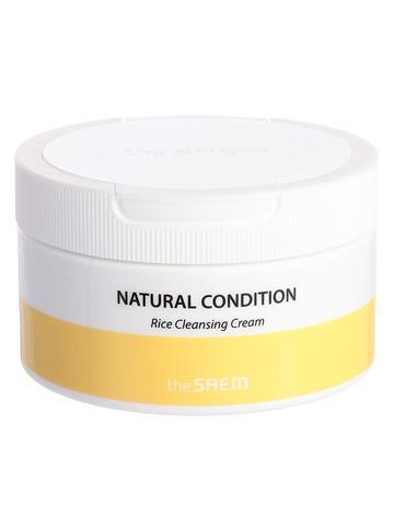 Крем для очищения кожи лица с рисом THE SAEM Natural Condition Rice Cleansing Cream