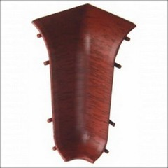 Угол внутренний для плинтуса ПВХ T-Plast Махогон