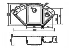 Схема Omoikiri Sakaime 105C-BE