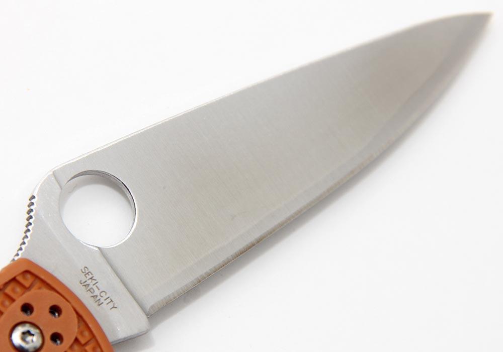 Нож Spyderco Endura 4 HAP40 C10FPBORE Sprint Run оранжевый - фотография