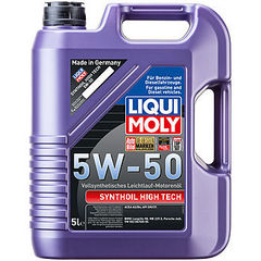 9068 LiquiMoly Синт.мот.масло Synthoil High Tech  5W-50 SM/CF;A3/B4 (5л)