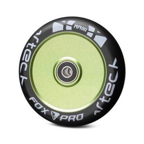 купить Колесо Fox PRo Hollow 110 мм зеленый черный артикул 321027