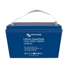 Литиевый аккумулятор VictronEnergy Lithium SuperPack 12,8V/100Ah