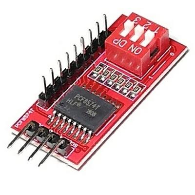 Модуль расширения портов ввода/вывода шины I2C (PCF8574) с DIP-переключателем