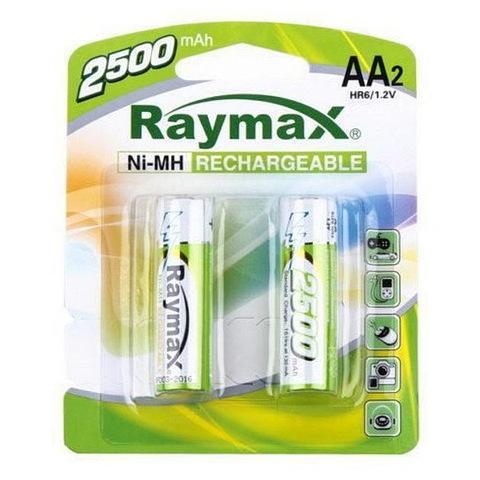 Аккумулятор Raymax R6, AA 2500mAh (2/24)