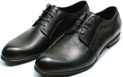 Мужские кожаные туфли классические Ikoc 060-1 ClassicBlack.