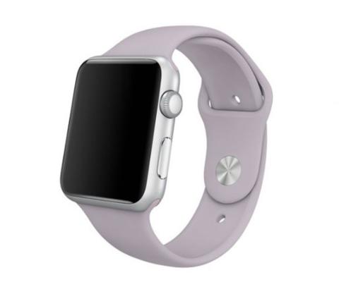 Ремешок для Apple Watch 38mm/40mm силиконовый | горная лаванда