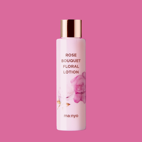 Увлажняющий цветочный лосьон с экстрактом розы и шиповника, 155 мл / Manyo Rose Bouquet Floral Lotion