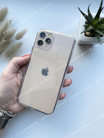 Чехол iPhone 12 Pro /6,1''/ Simple silicone /transparent/ 444