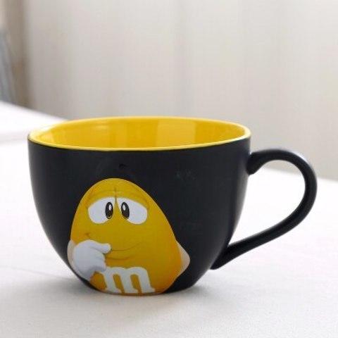 M&M кружка черная