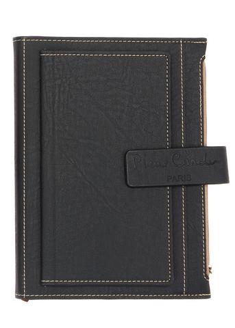 Записная книжка Pierre Cardin  (PC190-F04-1) черная в обложке 215х155х35 см