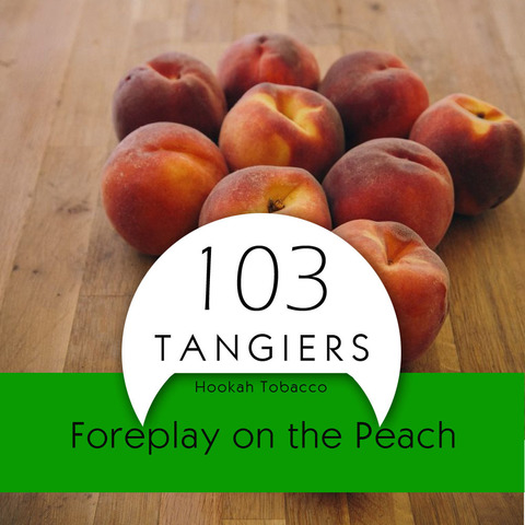 Табак Tangiers 100 г Birquq Foreplay on the Peach