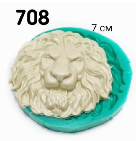Молд Голова льва, Арт.PO-0708, силикон