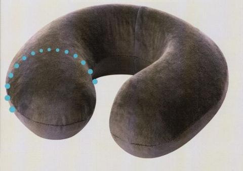 Подушка с эффектом памяти для путешествий Тривес Топ-126/1