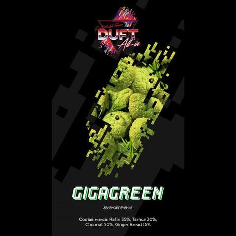 Табак Duft All-In Gigagreen (Олл-Ин Зеленое Печенье) 100г