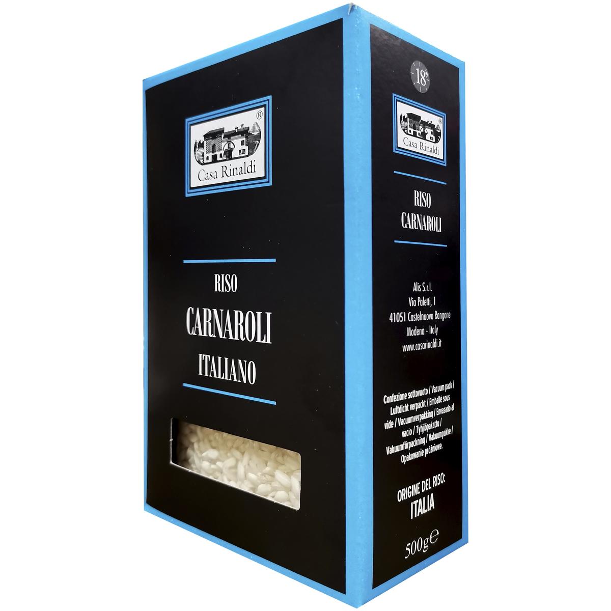 Рис Casa Rinaldi среднезёрный Карнароли 500 гр