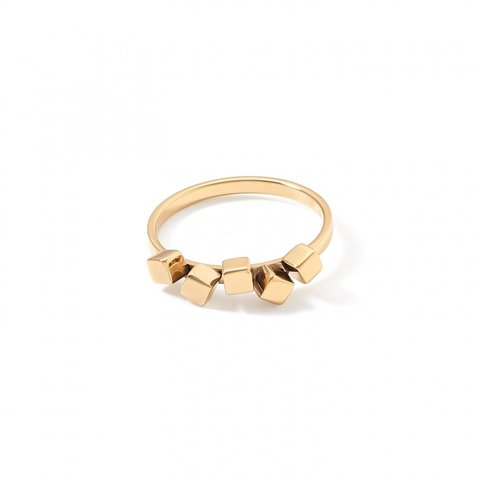 Кольцо Gold 17.2 5070/40-1600 54 цвет золотой