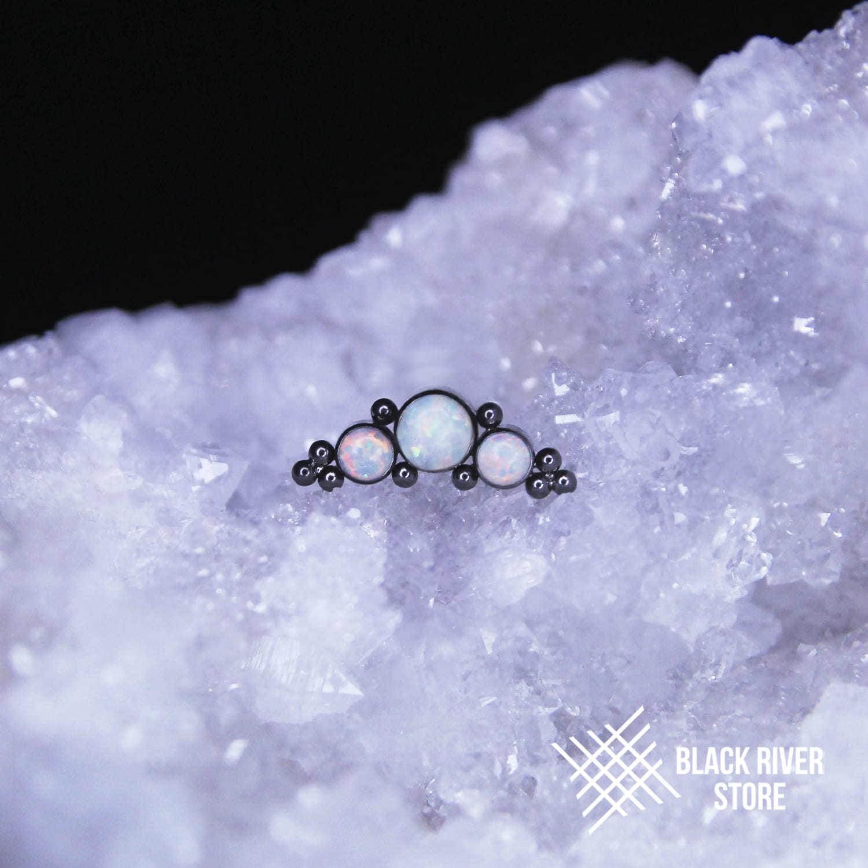 Orion's Belt White Opal #17