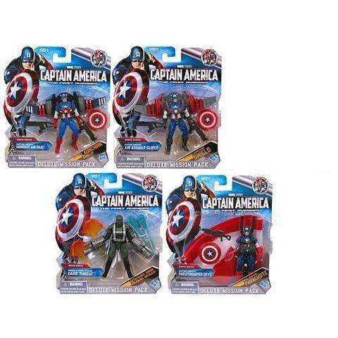 Captain America Deluxe Figure Series 02 Revision 03