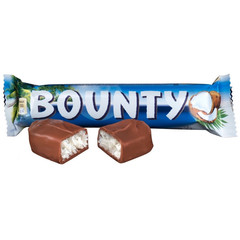 Шоколадный батончик Bounty 55 г