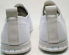 Спортивные туфли белые кросовки женские Small Swan NB-821 All White.