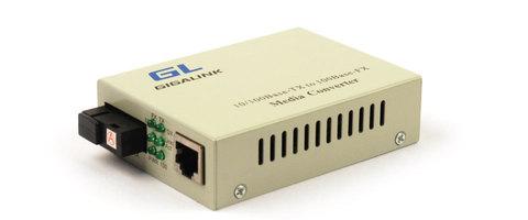 Конвертер GIGALINK UTP, 100Мбит/c WDM