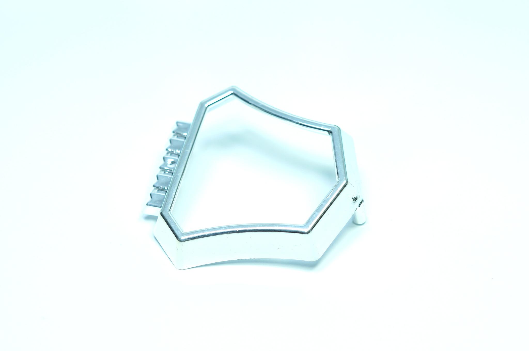 Рамка эмблемы решётки радиатора Газ 24 поздняя, 2410