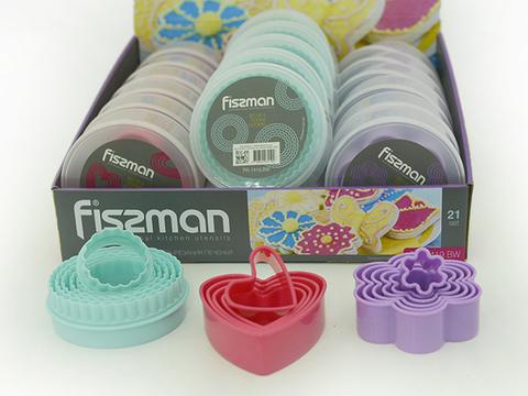 7419 FISSMAN Формы для вырезания печенья 5 шт,  купить