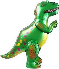 Ходячий шар Динозавр Аллозавр зеленый