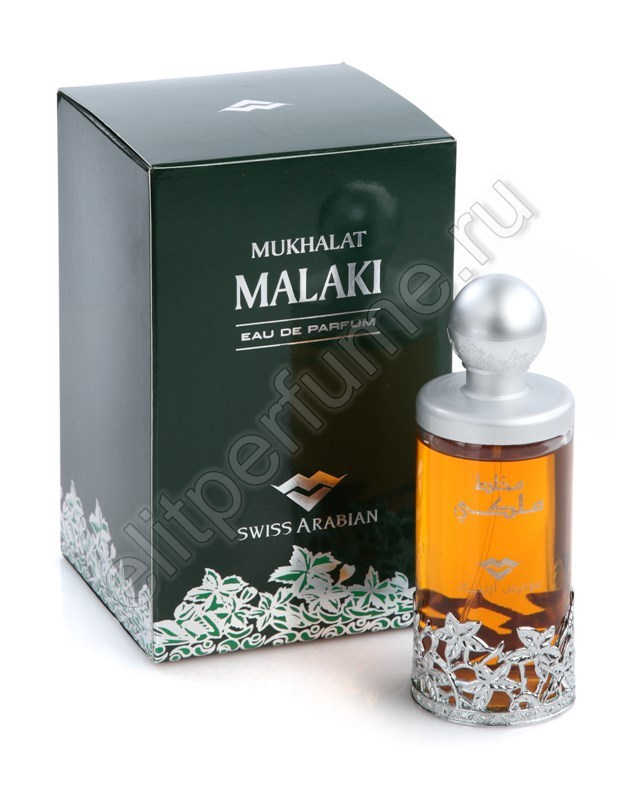 Пробники для спрея Мухаллат Малaки Mukhalat Malaki 1 мл спрей от Свисс Арабиан Swiss Arabian
