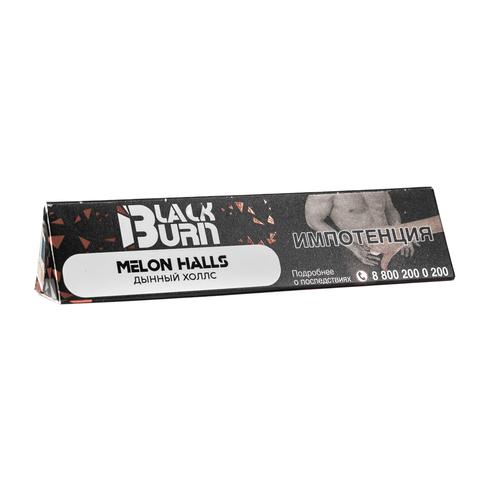 Табак Burn Black Melon Halls (Дынный Холлс) 25 г