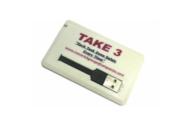 usb-флешка визитка