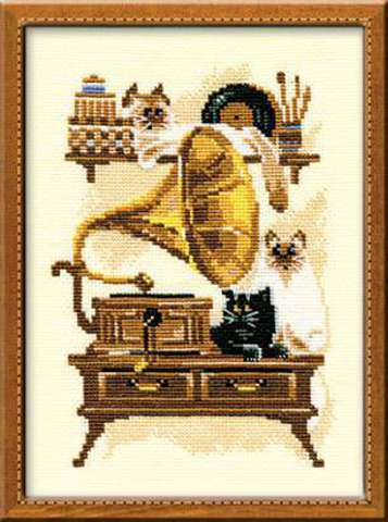 производитель РИОЛИС ¶артикул 859¶размер 18х24¶техника счетный крест¶тематика животные¶состав канва