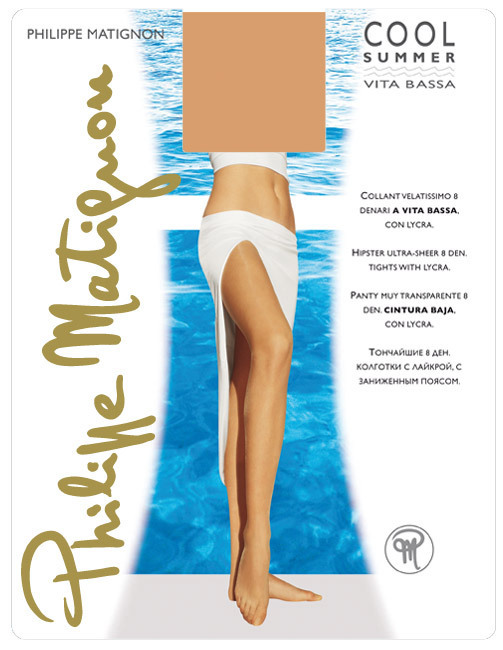 Чулки Philippe Matignon Cool Summer Bas-Jarretiere 8