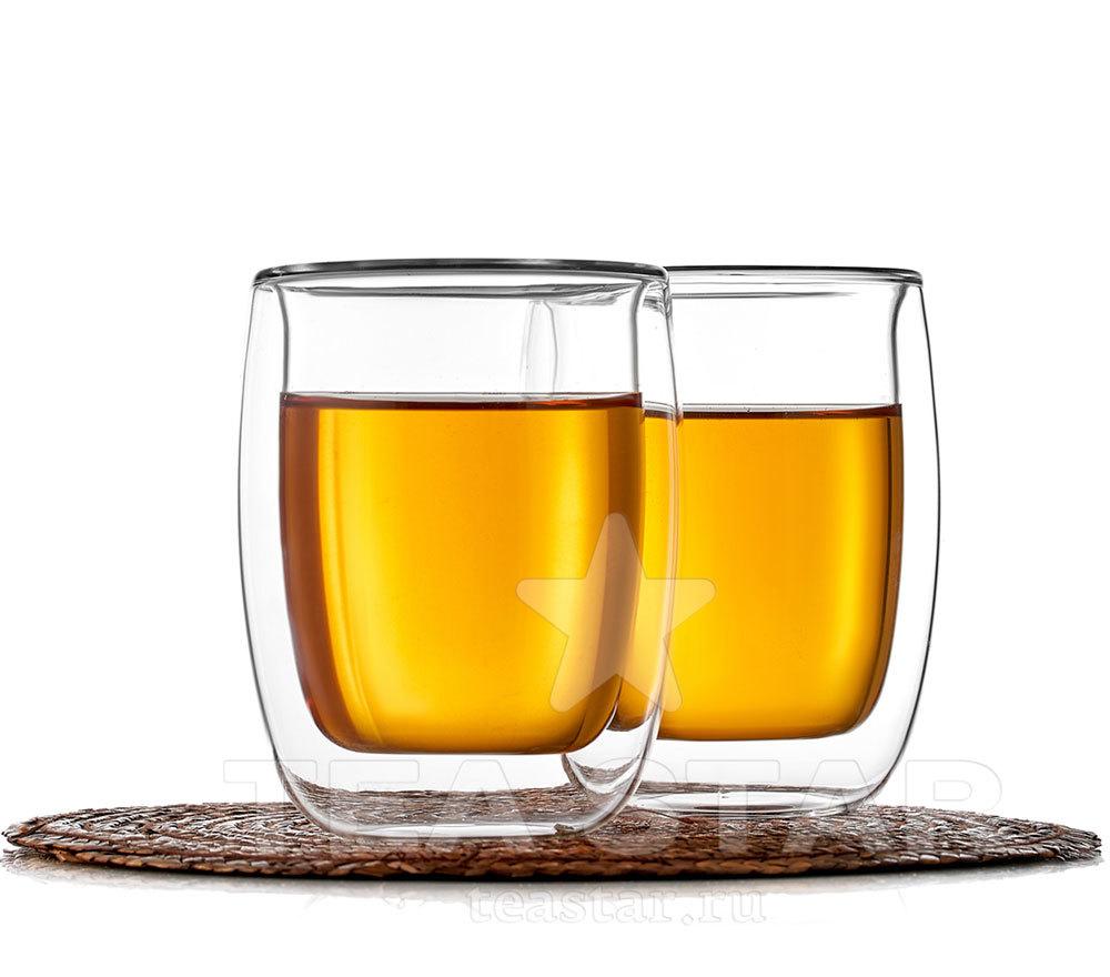 Купить стаканы с двойным дном для чая и кофе, с доставкой в Москве, СПб и России