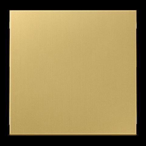 Выключатель одноклавишный. 10 A / 250 B ~. Цвет Латунь classic. JUNG LS. 501U+ME2990C
